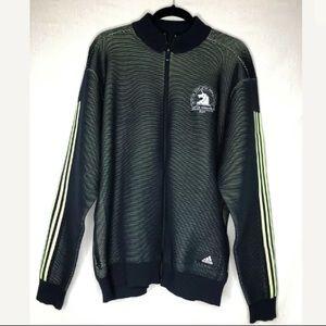 Adidas Boston Marathon 2019 Knit Track Jacket